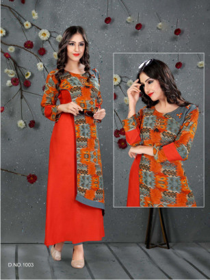 SC SANVI 01-D NO 3 STYLISH WOMEN KURTY