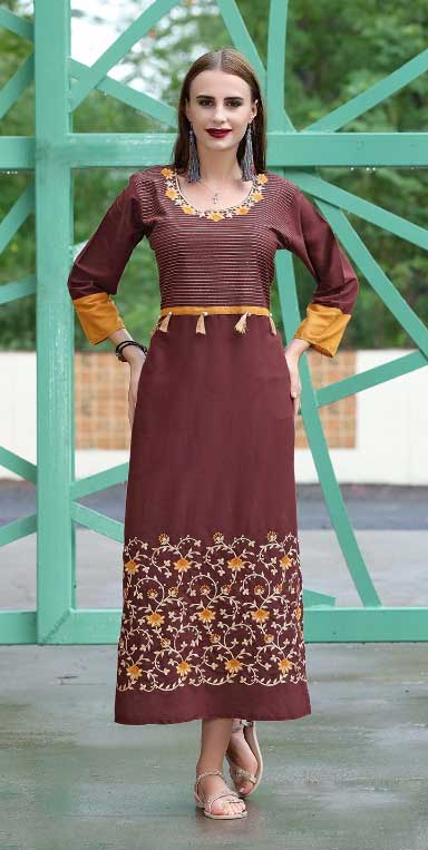 SMC SWAG 01-D NO 11 STYLISH WOMEN KURTI