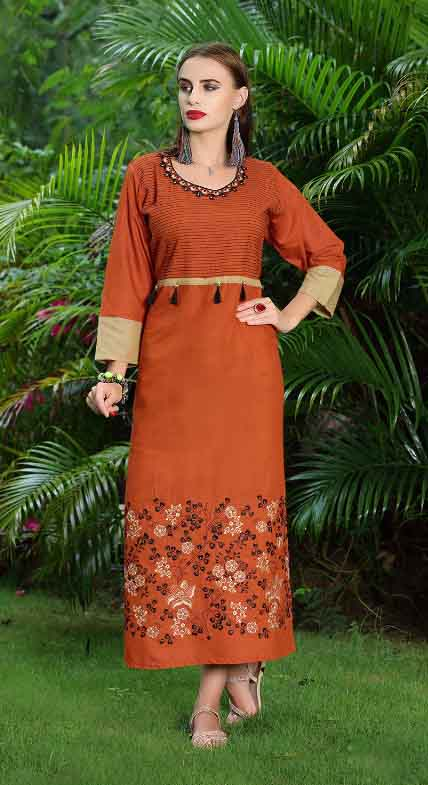 SMC SWAG 01-D NO 3 STYLISH WOMEN KURTI
