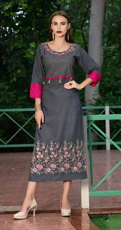 SMC SWAG 01-D NO 4 STYLISH WOMEN KURTI