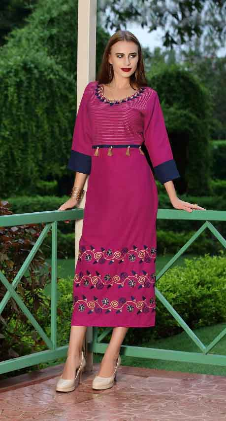 SMC SWAG 01-D NO 5 STYLISH WOMEN KURTI