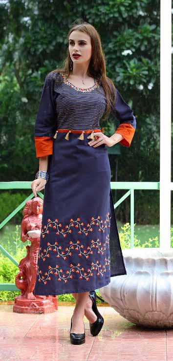 SMC SWAG 01-D NO 6 STYLISH WOMEN KURTI