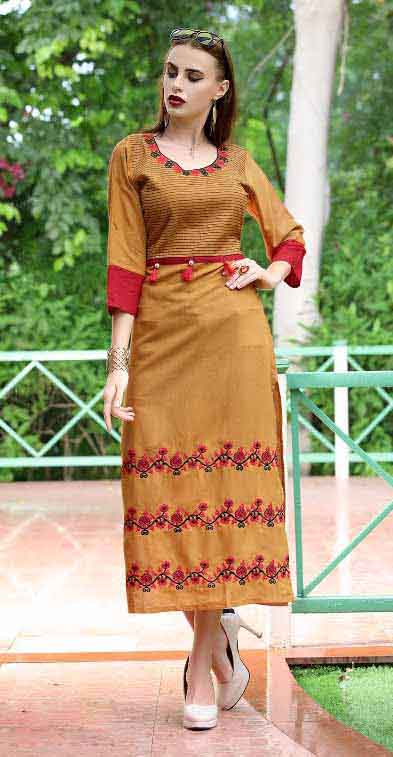 SMC SWAG 01-D NO 8 STYLISH WOMEN KURTI