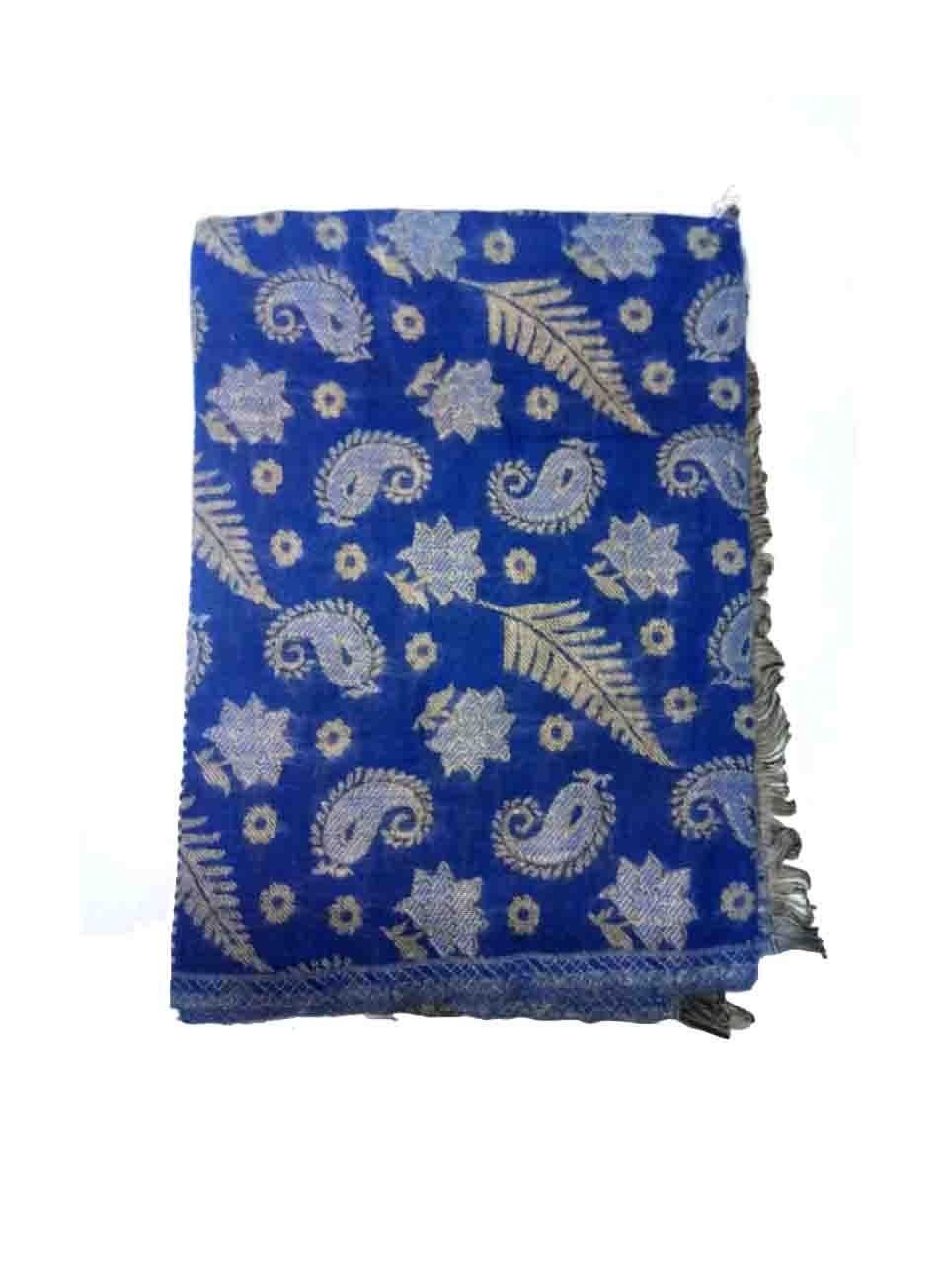 WOMEN SHAWL-BLUE-WSWL 165 D NO 1