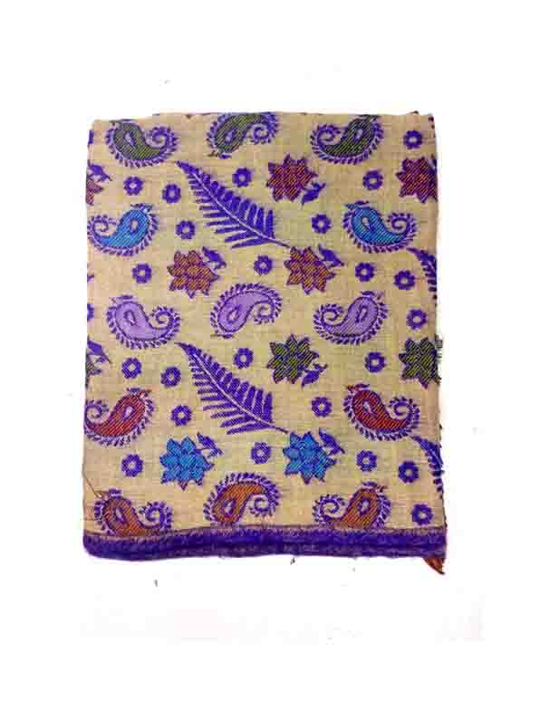 WOMEN SHAWL-VIOLET-WSWL 165 D NO 3