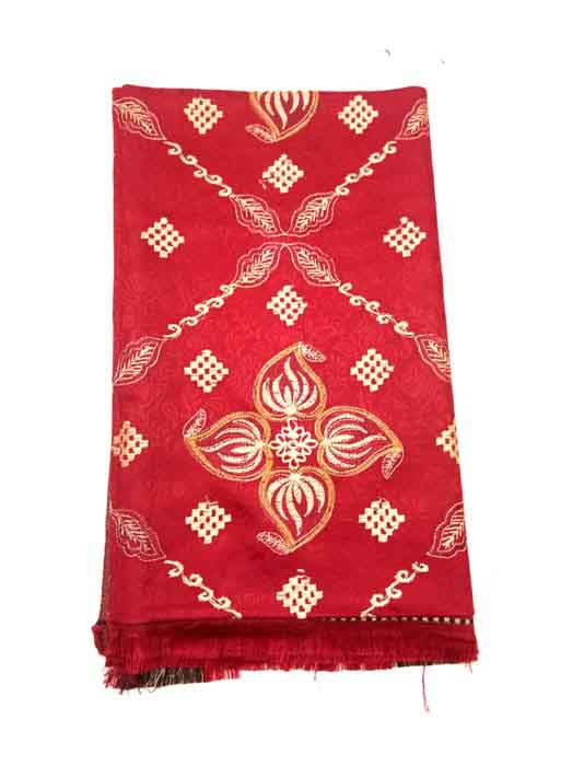 WOMEN SHAWL-RED-WSWL 370 D NO 1