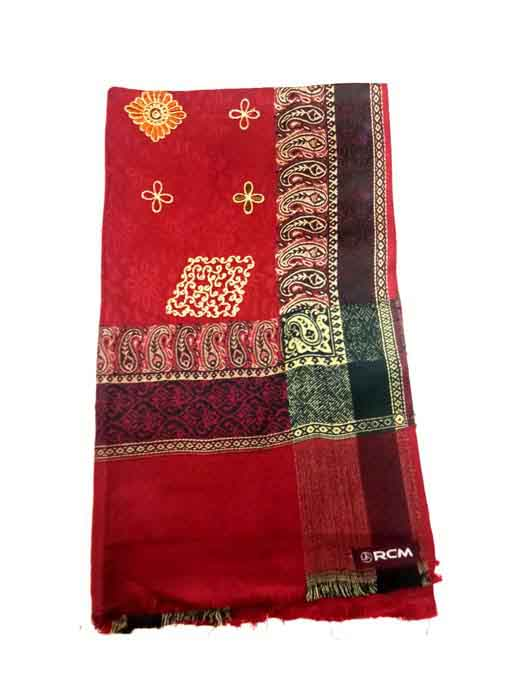 WOMEN SHAWL-MEHROON-WSWL 370 D NO 2