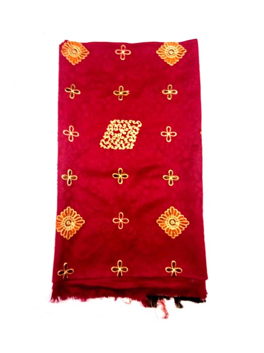 WOMEN SHAWL-RED-WSWL 370 D NO 2